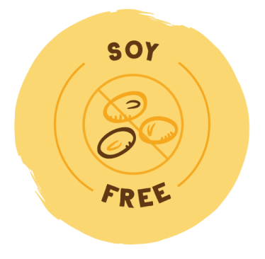Soy Free Badge