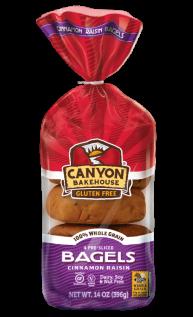 Cinnamon Raisin Bagels