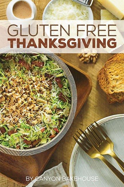 Gluten Free Thanksgiving E-Book Cover